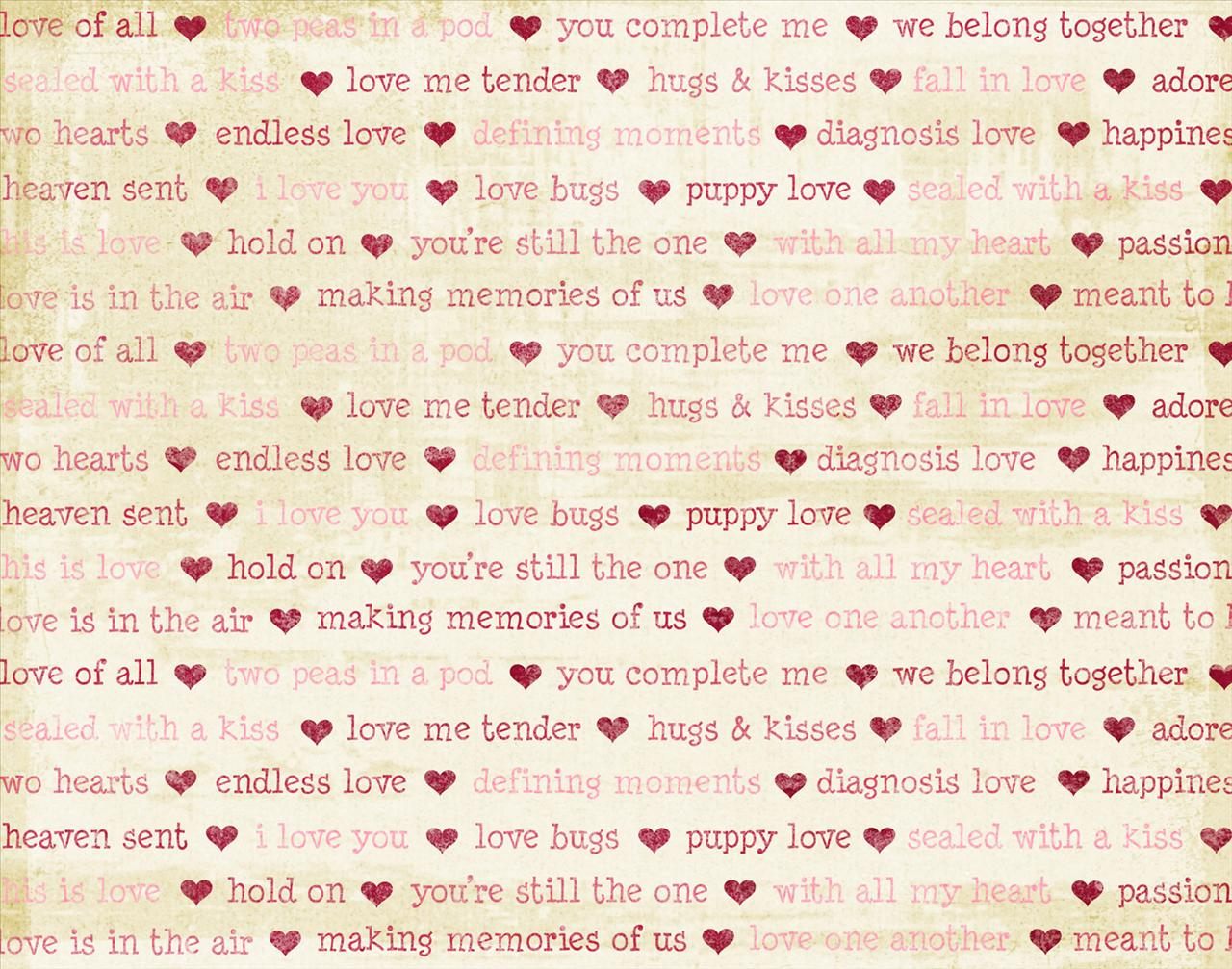 Love Wallpaper In Words : Words Of Love Love Quotes