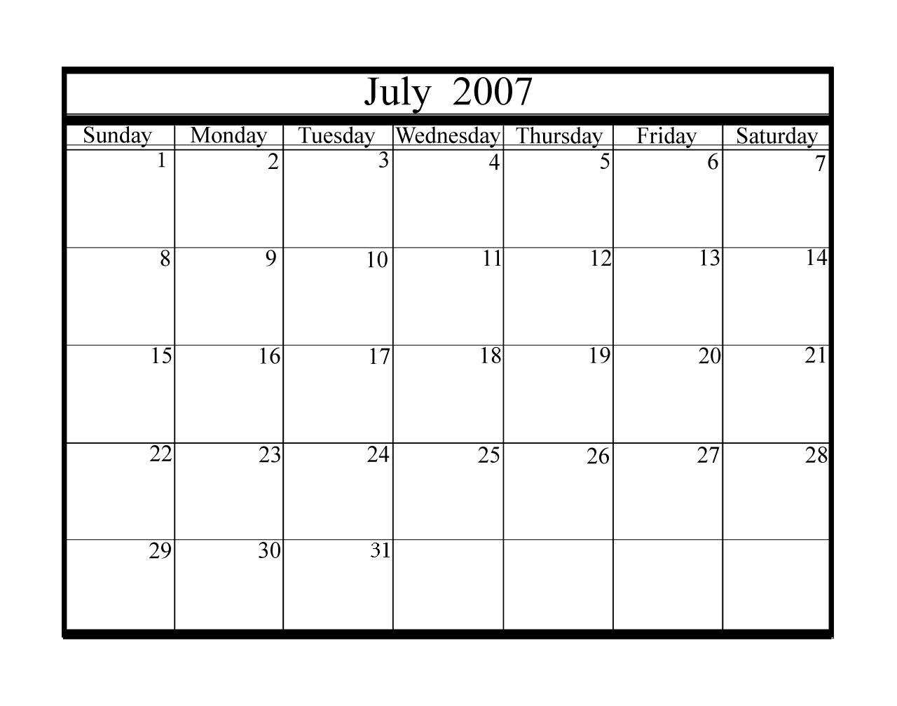 June And July Calendar/page/2 | My Calendar Template Collection