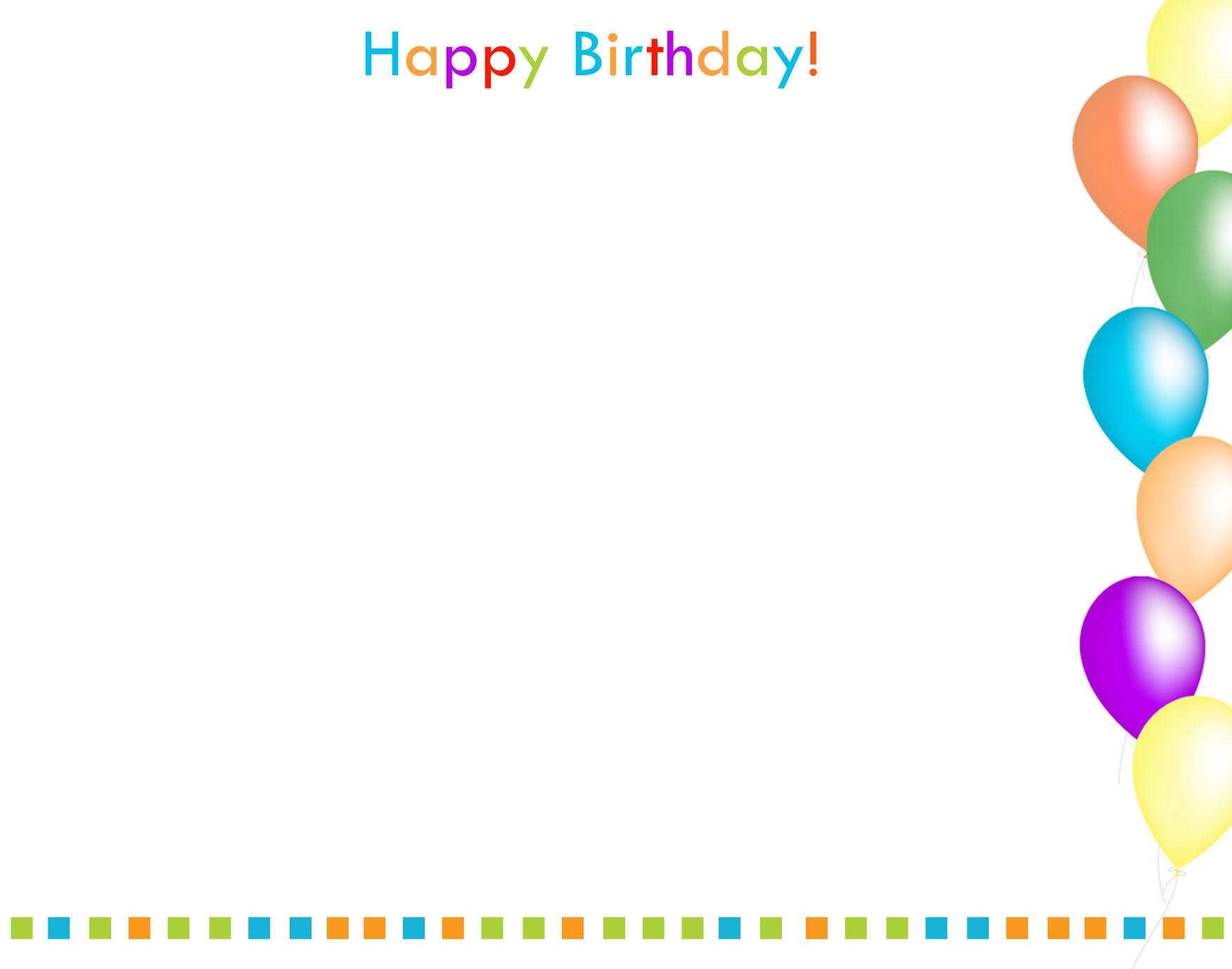 Happy Birthday Borders
