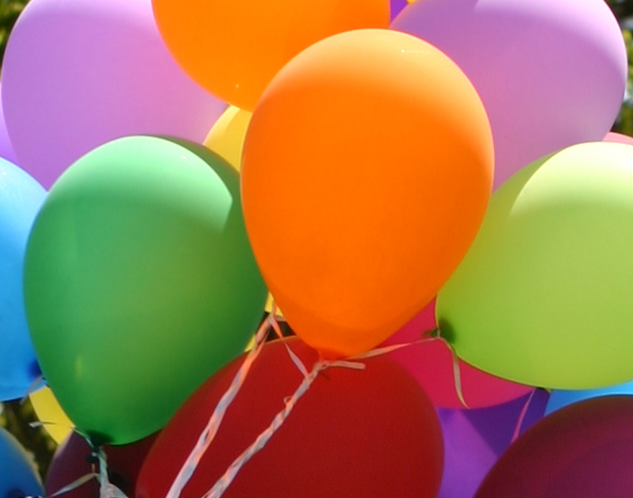 Real Birthday Balloons ~ crowdbuild for