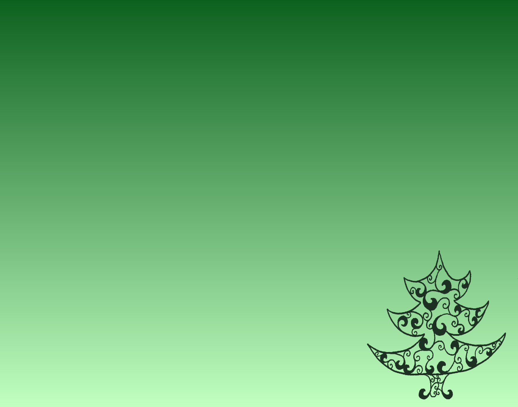 Green Christmas Tree Template | New Calendar Template Site